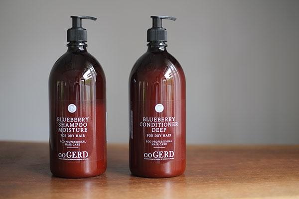 コランで使用しているプロダクト:CARE OF GERD shampoo and conditioner